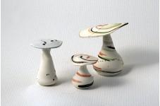 Champignons en céramique