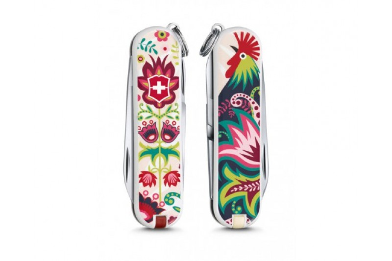 "VICTORINOX KNIFE CLASSIC ""Happy Folks"" LIMITED EDITION 2016"